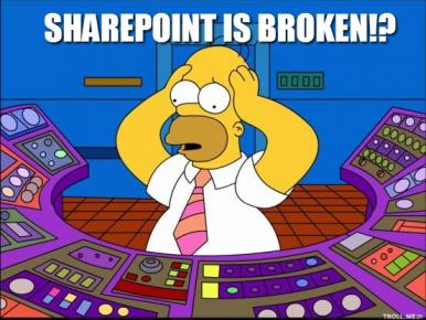 SharePoint-Funny-broken