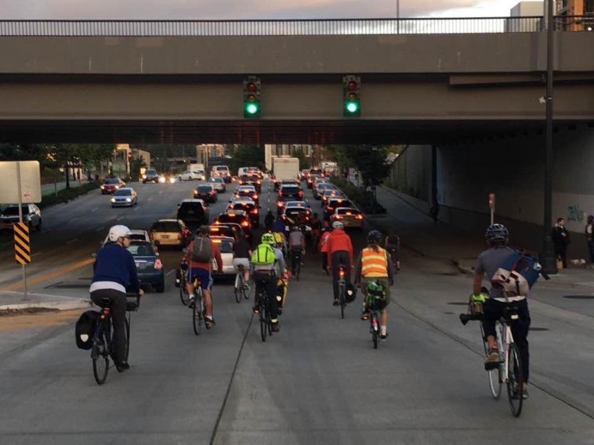 Friday night bikeride